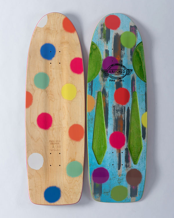 Krooked Beemer Board by Mark Gonzales