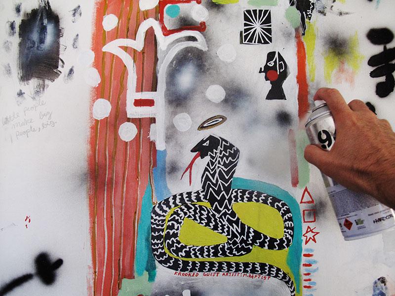 Guest Artist Martin Baptist